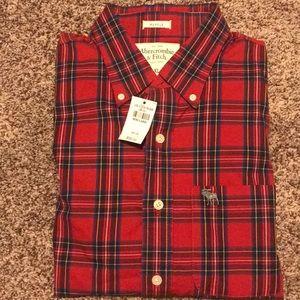 Abercrombie & Fitch button down shirt size XL